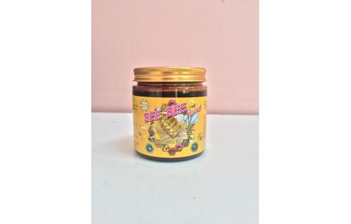 น้ำผึ้งดอกลำไยแท้ 100% (Bee Bee Honey) 430 g.